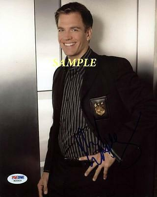 Michael Weatherly Reprint Autographed Signed Picture Photo Auto Collectible Ncis