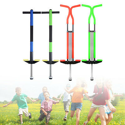 New Master Pogo Stick Children Kids Outdoor Spring Jump BounceToy Multicolor