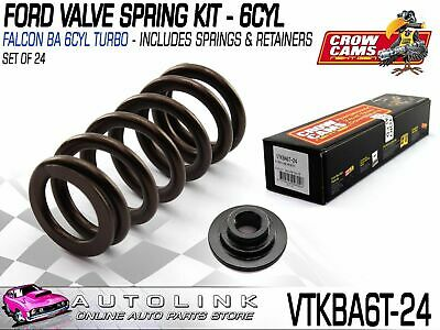 Crow Cams Race Valve Spring Kit With Retainers Suit Ford Ba Bf Fg 4.0L Turbo