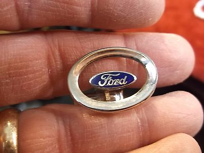 "Rare Older Vtg ""ford"" Motor Company Service Award / Employee Single Cufflink Vgc"