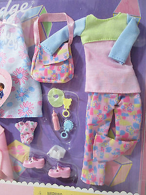 Happy Family Midge Baby Pregnant Maternity Doll Outfits Infant Accessorie Barbie