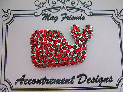 Accoutrement Designs Red Whale Needle Minder Magnet Mag Friends