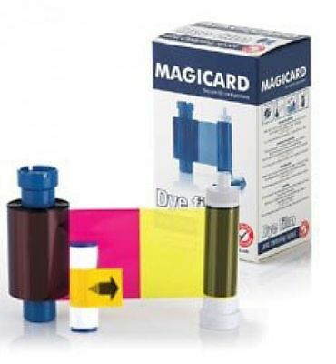 MA250YMCKOK MAGICARD COLOR RIBBON with RIO ENDURO PRONTO Printer 250prints