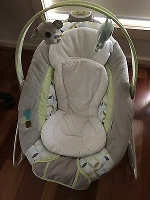 Ingenuity SmartBounce Automatic Bouncer Rocker for Baby