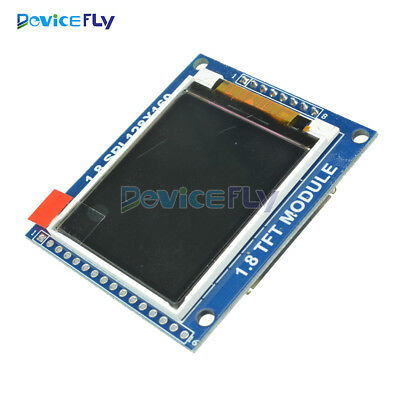 1.8 Inch Serial Mini SPI TFT LCD Module Display With PCB Adapter ST7735B IC