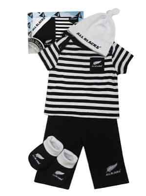 New Zealand All Blacks New Born Baby Gift Pack 4 Items