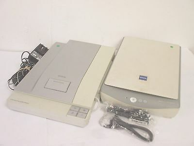 2 x EPSON Photo Office Flatbed Scanners V350 / 1240U *Working* with PSU inc. VAT