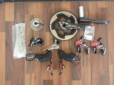 Sram Red 22 Groupset 2016 Brand New Road Carbon 172,5 52-36