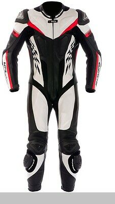 Spyke 4Race Rac Man Leather Racing Suit, Motorcycle Racing Leather Suit for Men