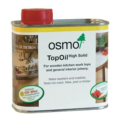 Osmo TOP OIL 3068 NATURAL For Kitchen Wooden Worktops Internal Joinery - 500ml