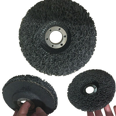 5PCS 115mm/4.5'' Poly Strip Wheel Discs Paint Rust Remover Clean Angle Grinder