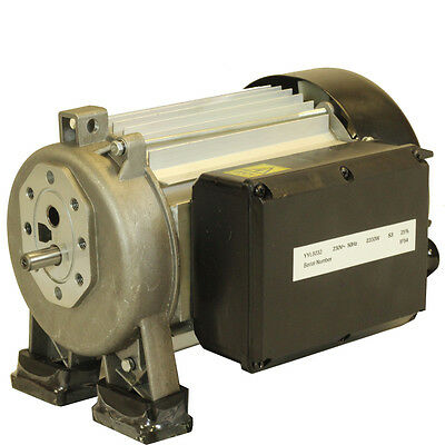Forest Master Replacement 3Hp 2200 Watt Electric Motor Suits 4 5 6 7 Ton 13 Amp