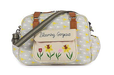 Yummy Mummy Blooming Gorgeous Garden Birds Baby Changing Bag  Accessories & Mat