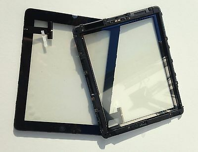 iPad 1 First Generation Front Glass Panel Digitizer Touch Screen WITH FRAME