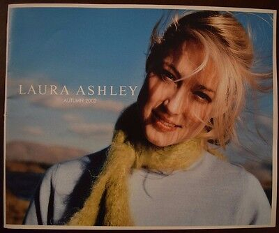 "Rare  ""Laura Ashley Autumn 2002"" catalogue - clothes and accessories. Vgc"