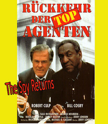 Bill Cosby The SPY RETURNS Robert Culp RÜCKKEHR DER TOP AGRNTEN Spielfilm KULT