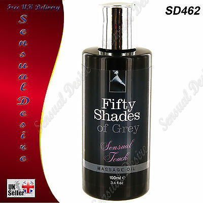 Fifty Shades Of Grey Sensual Touch Erotic Massage Oil