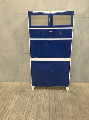 Fully Restored Vintage 1950s Retro Kitchen Cabinet+2 Butter/Cheese Compartments
