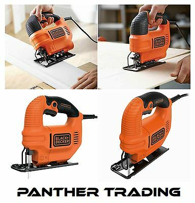 Black & Decker 400W / 240V Compact Jigsaw Bevel Detents at 0 and 45° - KS501