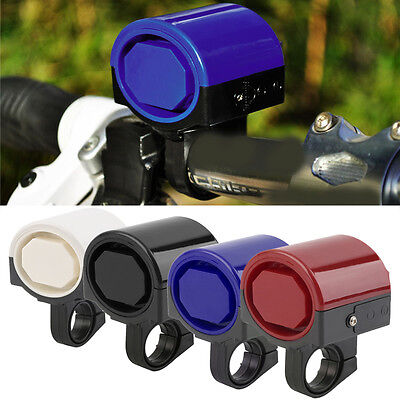 MTB Road Bicycle Bike Electronic Bell Loud Horn Cycling Hooter Siren Holder ZG