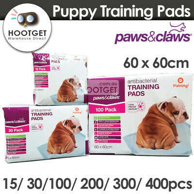 [60x60cm] Pet Puppy Dog Indoor Cat Kitten Toilet Training Pads Super Absorbent