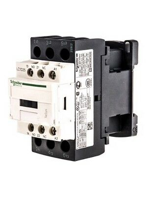 Schneider Lc1D25B7 Contactor 25A 11Kw 24V Ac Coil. Brand New, Boxed.