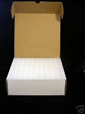 100 NUMIS Square Cent Coin Tubes Unbreakable
