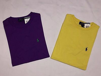 New With Tags Polo Ralph Lauren Boy's Toddler Short.sleeve T.shirts -