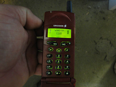 Original Ericsson T18S T18s Unlocked Cellular Mobile Cell Phone GSM