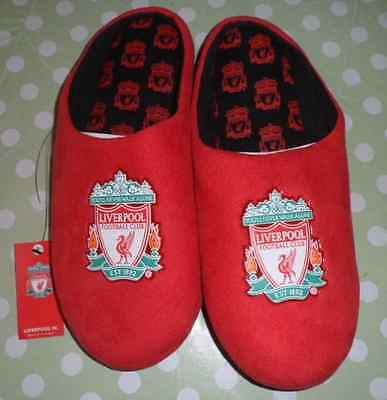 New Liverpool Football Club Mens Defender Slippers Size 11/12