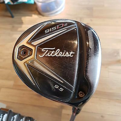 Driver Titleist 915D2 9,5° regular