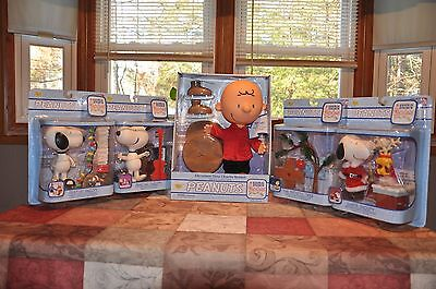Memory Lane Charlie Brown Christmas Complete Deluxe Sets & Ultimate Large Figure