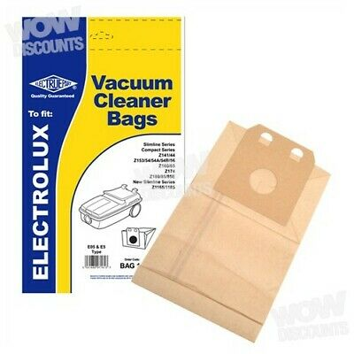 Electruepart E5 Type Vacuum Dust Bags for Electrolux Z141/144  (Pack of 5)