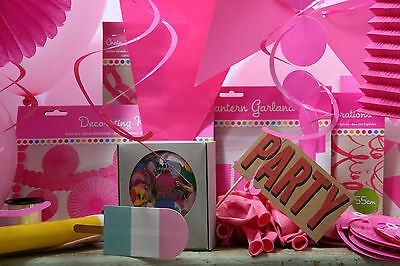 Pink Theme Decorations Party Pack Photo Booth Weddings Baby Shower Birthdays