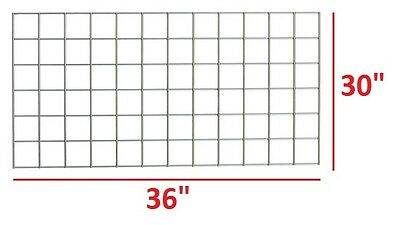 "Metro 30"" X 36"" Smartwall Grid For Super Erecta Heavy-Duty Wire Shelving *xlnt*"