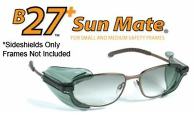 Safety Optical B-27 Tinted Side Shields Small Z87.1 Compliant (1 Pair)