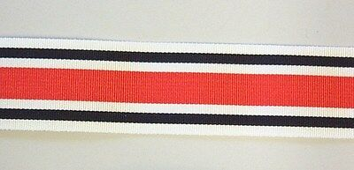 """12"""" of MINIATURE Medal Ribbon for the SPECIAL CONSTABULARY Medal"""