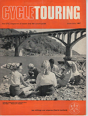 Vintage Cycle Touring CTC Magazine  June / July 1967 57722
