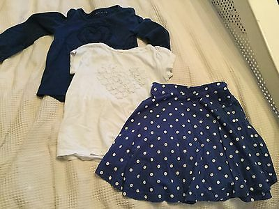 joules Girls Skirt and 2 x tops