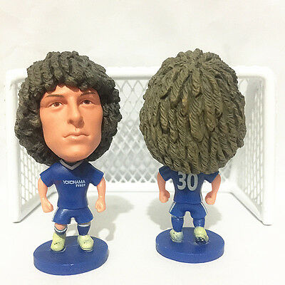 Statuina doll DAVID LUIZ 30 CHELSEA FC football action figure 7 cm memorabilia