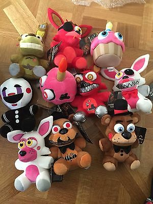 Five Nights at Freddy's Marionette, Nightmare Cupcake  & Mangle Pick Your Own!