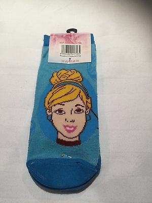 Disney Princess Twin Pair Trainer Socks Size 12-2