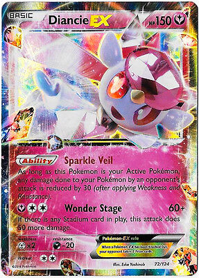 Pokemon Diancie Ex Fates Collide