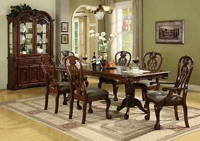 Brussels Formal Dining Room Set 9 Piece w China Cabinet