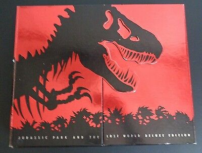 JURASSIC PARK LOST WORLD Deluxe Edition PROMO Set DVD Senitype Soundtrack 2000