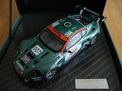 Le Mans - Aston Martin Racing DBR9 - 007.  1/43 scale Limited Edition (2006)