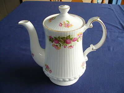 """Vintage Queens Rosina China """"Woman and Home"""" Coffee Pot"""