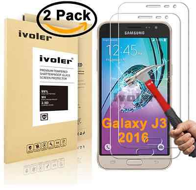 [2-Pack] Samsung Galaxy J3 2016 Protection écran , iVoler Film Protection d'éc
