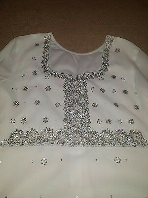 Asian/ Indian/ Pakistani Ladies Embroided Dress/ Suit  Bollywood