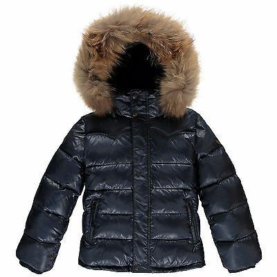 Finger In The Nose | Snowslope Premium Unisex Down Jacket | Navy| Xxlarge | 10Yr